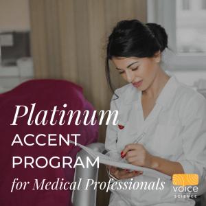 Platinum Accent Program for Medical Professionals