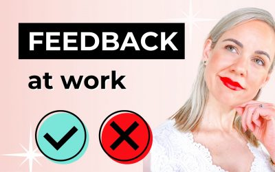 How to React to Negative Feedback at Work: Video Tutorial